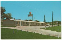 Vintage Postcard OK Motel of Pacific, Missouri, off Route 66, circa 1960s, $5.00 on Etsy