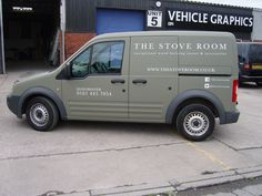 e4d67efc03  Matt green van  wrap with cut  vinyl