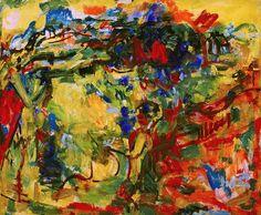 Hans Hofmann, Afterglow - 1938