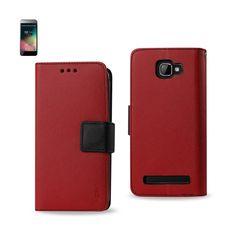 REIKO BLU DASH 5.0 3-IN-1 WALLET CASE IN RED