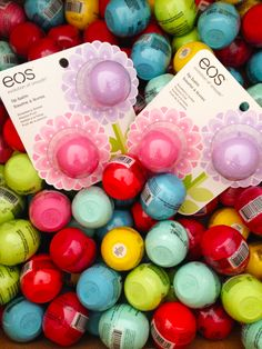 I want all of that so much I just love eos lip balms so much!