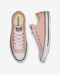 Converse Chuck Taylor All Star Ox 2018 Sneaker Storm Pink Men 4 Wm 6 Converse All Star Pink, Cute Converse, All Star Shoes, Converse Shoes, Converse Low Tops, Red Sneakers, Chuck Taylor Sneakers, Sneakers Fashion, Fashion Shoes