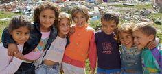Kids in Albania
