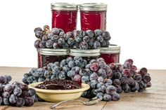 Druivenconfituur Chutney, Pickels, Kitchen Queen, Cooking Recipes, Healthy Recipes, Healthy Food, Fruits And Veggies, Blueberry, Brunch
