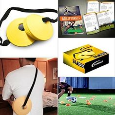 Trained Sports Set of 24 Soccer Cones, 2 Inch, Free Shoulder Carry Strap and Free Agility Drills eBook (Yell No description (Barcode EAN = 0784672493321). http://www.comparestoreprices.co.uk/december-2016-6/trained-sports-set-of-24-soccer-cones-2-inch-free-shoulder-carry-strap-and-free-agility-drills-ebook-yell.asp