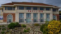 Pavilion Ballrooms at rear of building .