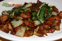 Chicken & Bok Choy Stir-fry with oyster sauce, hoisin sauce, sesame oil, ginger and garlic to give it all the elements of this Asian favorite. Stir Fry Recipes, Pork Recipes, Asian Recipes, Chicken Recipes, Cooking Recipes, Healthy Recipes, Ethnic Recipes, Game Recipes, Chinese Recipes