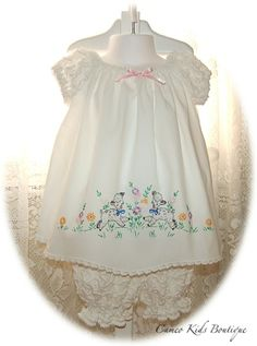 Cameo Kids Boutique--Bishop style pillowcase dress