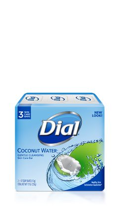 Wrap yourself in the soft, caring lather of Dial® Coconut Water Skin Care Bar Soap. The summery, refreshing scent of coconut water is lightly fragrant and wonderfully tropical. Coconut Soap, Coconut Water, Dial Bar Soap, Perfume Body Spray, Bathroom Stuff, Mouthwash, Shower Gel, Lotions, Body Wash