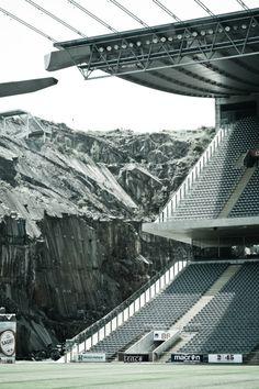 Estádio Municipal de Braga : Municipal Stadium, Braga Portugal   Eduardo Souto de Moura   Image : Abril Doismileonze