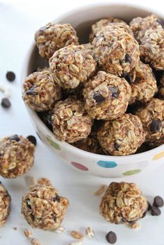 Tons of healthy no-bake snack ideas.