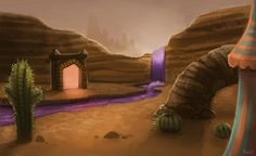 Setting inspiration -- Spyro  the Dragon -- Peace Keepers World