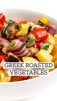 Vegetarian Side Dishes, Veggie Side Dishes, Healthy Side Dishes, Vegetable Dishes, Side Dish Recipes, Greek Side Dishes, Dinner Recipes, Healthy Vegetable Recipes, Healthy Vegetables