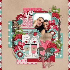 Love You A Latte - Scrapbook.com