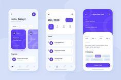 Login Page Design, App Ui Design, Mobile App Design, Interface Design, Best App Design, Mobile Login, App Login, Workout Tracker App, Android App Design