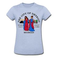 Detroit Flag tee by Down With Detroit