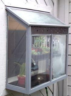 kitchen window garden nifty - Garden Window Ideas