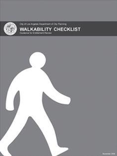 LA Walkability Checklist | Urban Design Studio | City of Los Angeles