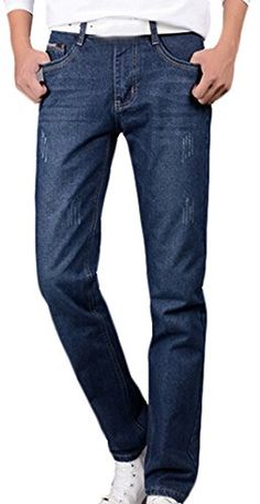 Generic-Mens-Casual-Fashion-Jeans-Slim