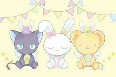 from Cardcaptor Sakura Manga Anime, Fanarts Anime, Anime Art, Sakura Kinomoto, Syaoran, Chibi, Sakura Card Captors, Otaku, Clear Card
