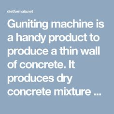 Guniting machine is a handy product to produce a thin wall of concrete. It produces dry concrete mixture which is enough damp to stick on the wall. Meta Therm Furnace Pvt. Ltd is the top name in the list of Guniting Machine Manufacturers In Mumbai which has a huge range of industrial equipment, ovens and furnaces.