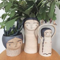 These planters @h.a.ceramics