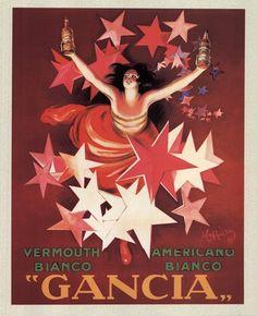 Gancia Poster by Leonetto Cappiello