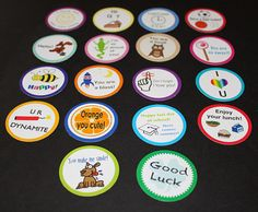Lunch Love Notes for Kids VERSION 4 by familytimedesigns on Etsy, $6.00