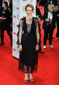 Claire Foy arriving for the Virgin TV British Academy Television Awards 2017 held at Festival Hall at Southbank Centre London