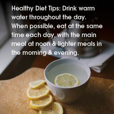 Healthy Diet Tip #Ayurvedic Lifestyle, what you eat is just as important as how you eat.