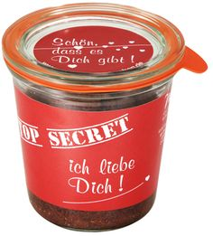 Bio Kuchen Im Glas - TOP SECRET - Schokolade