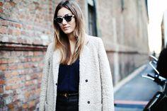 Georgia T and her coat. nice one. #SaraStrand