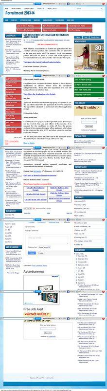 SSC Recruitment 2014 CGL Exam Notification Advertisement ~ Recruitment 2013-14