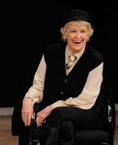 ... elaine stritch actress elaine stritch speaks at the tennessee williams