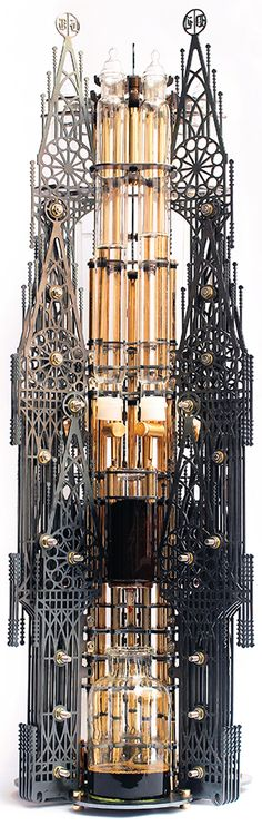 Gothicism meets steampunk? Can you see what it is?Believe it or not: it's a coffee maker from Dutch Lab http://www.dutch-lab.com/?product=gothicism