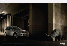 New Suzuki Grand Vitara. Can't wait to see it. Advertising Agency: Craverolanis, Buenos Aires, Argentina Executive Creative Directors: Juan Cravero,