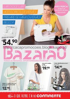 Promoções Continente - Antevisão Folheto Bazarão 9 a 15 agosto - http://parapoupar.com/promocoes-continente-antevisao-folheto-bazarao-9-a-15-agosto/