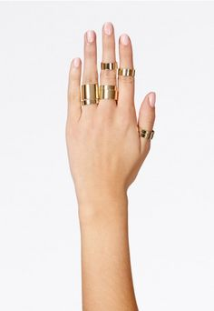 Katalina Multi Stack Rings - Jewellery & Watches - Accessories - Missguided