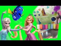 Get ready for some window art with Disney Frozen Elsa, Princess Rapunzel, and Finding Dory gel clings! We're also spicing it up with some fun Chalkola chalk . Finding Dory Toys, Frozen Videos, Princess Rapunzel, Disney Princess, Princess Videos, Disney Pixar Movies, Chalk Pens, Disney Frozen Elsa, Window Art