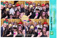 #Photobooth #PartyRentals at TD #ChristmasParty http://www.paradiseevents.com/photo-booth-rental/