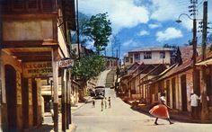 Street Scene in Old Port of Spain | by Striderv
