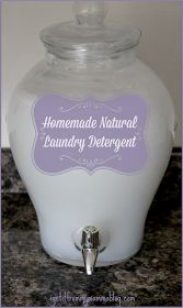 I Get It From My Mamma: Simple Saturday: DIY Natural Laundry Detergent (Borax Free)
