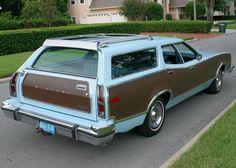 '77 Mercury Cougar Villager Brougham Wagon