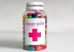 Jelly beans! Take some happy pills!