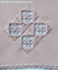 Hardanger Embroidery Patterns The Elegant Geometry of Hardanger - Types Of Embroidery, Learn Embroidery, Hand Embroidery Stitches, Embroidery Techniques, Embroidery Patterns, Bordados Tambour, Broderie Bargello, Hardanger Embroidery, Paper Embroidery