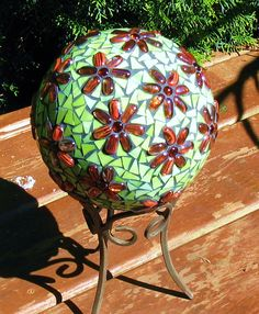 recycled bowling ball / this would be too cool!