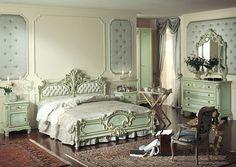 #home #decor #interior #design #bedroom #pastel #colours #classic #baroc #venetian #italian #inspiration #inspo #decoration #house #green #amazing #elegant #luxury #idea #living