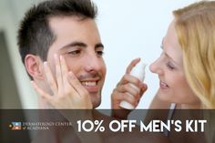 Father's Day is coming up on June 19th! Give the dad(s) in your life something they might not think to get for themselves: the gift of great skin care products!  Come by the office or call (337) 235-6886 and get 10% OFF our Men's Skin Care Kit! Containing all the must-have products for his daily skin care routine, from the top dermatologist-recommended brands.