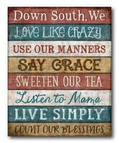 'Down South' ...we DO love our CRAZY and put 'em out on the porch if they're family!