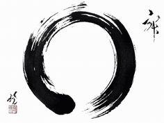 The classic symbol for Zen is the enso. It is known as the circle of…